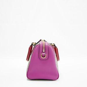 Gucci Bags - Gucci Bag Boston Gg 2 Way Purse Red Pink Monogram